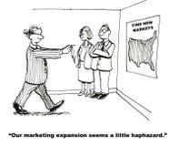 Επέκταση μάρκετινγκ διανυσματική απεικόνιση