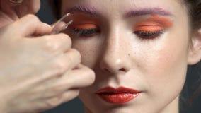 Επέκταση Eyelash, νέο πρότυπο απόθεμα βίντεο