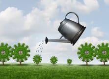 Επένδυση για τη μελλοντική επιχείρηση διανυσματική απεικόνιση