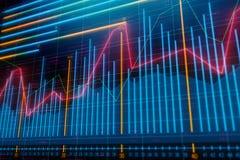 Επένδυση, εμπόριο και έννοια αποθεμάτων διανυσματική απεικόνιση