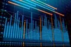 Επένδυση, εμπόριο και έννοια μεσιτών διανυσματική απεικόνιση