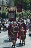 Επέτειος ιδρύματος της Ρώμης/Italy/04/22/2018 Ρώμη, ρωμαϊκή λεγεώνα δ Στοκ Εικόνες
