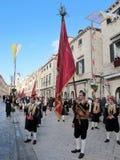 Επέτειος του ST Blaise ο προστάτης Άγιος Dubrovnik Στοκ Φωτογραφία