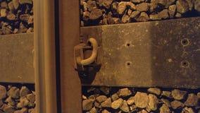 Επίγεια σύνδεση διαδρομής σιδηροδρόμων Στοκ φωτογραφίες με δικαίωμα ελεύθερης χρήσης
