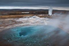 επίγεια τρύπα Στοκ Φωτογραφίες
