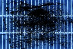 Επίγειο δικτυωτό πλέγμα χάλυβα Grunge εξαιρετικά μπλε Σύσταση ανοξείδωτου, υπόβαθρο για τον ιστοχώρο ή κινητές συσκευές Στοκ φωτογραφία με δικαίωμα ελεύθερης χρήσης