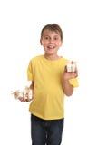 επίδειξη δώρων παιδιών στοκ φωτογραφία με δικαίωμα ελεύθερης χρήσης