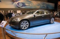 Επίδειξη μηχανών της Γενεύης 2009 - έννοια Chrysler 200C EV Στοκ φωτογραφία με δικαίωμα ελεύθερης χρήσης