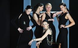 Επίδειξη μόδας γυναικών Στοκ Εικόνα