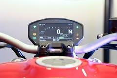 Επίδειξη του τέρατος 821 Ducati - Ινδία Στοκ Φωτογραφία