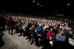 επίδειξη Φεβρουάριος Μι& Στοκ εικόνα με δικαίωμα ελεύθερης χρήσης