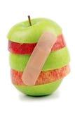 επίδεσμος μήλων Στοκ Φωτογραφίες
