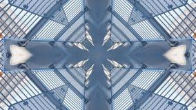 Επίδραση καθρεφτών overpass απεικόνιση αποθεμάτων