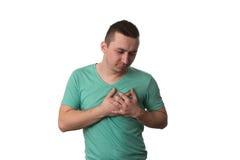 επίθεση που έχει τις νεολαίες ατόμων καρδιών στοκ φωτογραφία