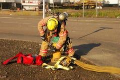 Επίθεση πυρκαγιάς Στοκ φωτογραφία με δικαίωμα ελεύθερης χρήσης