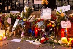 Επίθεση τρομοκρατίας του Παρισιού Στοκ Εικόνες