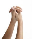 επίκληση χεριών Στοκ εικόνα με δικαίωμα ελεύθερης χρήσης