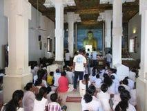 Επίκληση σε Sri Mahabodhi σε Anuradhapura στη Σρι Λάνκα Στοκ Εικόνες