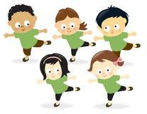 Επίλυση παιδιών Στοκ Εικόνες
