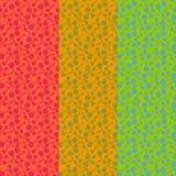 Επίπεδα φωτεινά αφηρημένα βιολογικά στοιχεία r διανυσματική απεικόνιση