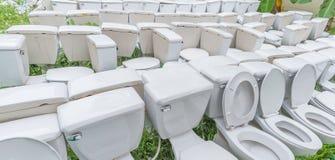 επίπεδη τουαλέτα αποβλήτων υπαίθρια στοκ φωτογραφία με δικαίωμα ελεύθερης χρήσης
