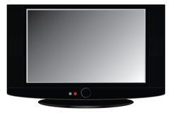 επίπεδη TV Στοκ Εικόνες