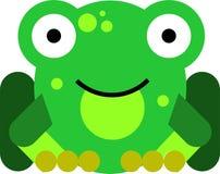Επίπεδος βάτραχος σχεδίου στοκ φωτογραφία με δικαίωμα ελεύθερης χρήσης