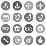 Επίπεδο εικονίδιο που τίθεται για τους ιστοχώρους και mobiles Στοκ Εικόνες