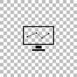 Επίπεδο εικονιδίων ελέγχου διανυσματική απεικόνιση