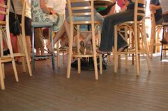 επίπεδο πατωμάτων ράβδων Στοκ Εικόνες