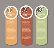 Επίπεδες απεικονίσεις επιχειρησιακού infographics στοκ φωτογραφία