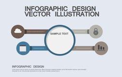Επίπεδες απεικονίσεις επιχειρησιακού infographics στοκ φωτογραφίες με δικαίωμα ελεύθερης χρήσης