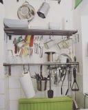 Επίπεδη κουζίνα στούντιο Στοκ Φωτογραφίες