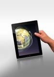 επίπεδη ταμπλέτα PC Στοκ φωτογραφία με δικαίωμα ελεύθερης χρήσης