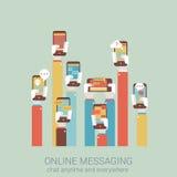 Επίπεδη ύφους έννοια infographics απεικόνισης σχεδίου διανυσματική Στοκ φωτογραφία με δικαίωμα ελεύθερης χρήσης