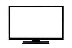 επίπεδη TV οθόνης LCD Στοκ φωτογραφία με δικαίωμα ελεύθερης χρήσης