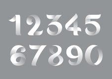 Επίπεδος αριθμός Στοκ εικόνες με δικαίωμα ελεύθερης χρήσης