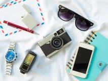 Επίπεδος βάλτε τα genneral στηρίγματα τεχνολογίας Στοκ εικόνες με δικαίωμα ελεύθερης χρήσης