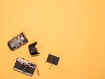 Επίπεδος βάλτε τη κάμερα 1 Στοκ φωτογραφία με δικαίωμα ελεύθερης χρήσης