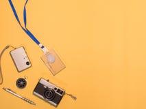 Επίπεδος βάλτε τη κάμερα 1 στοκ φωτογραφίες με δικαίωμα ελεύθερης χρήσης