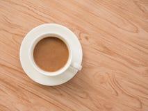 Επίπεδος βάλτε τον καφέ 1 Στοκ Φωτογραφία