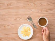 Επίπεδος βάλτε του καφέ 1 Στοκ φωτογραφίες με δικαίωμα ελεύθερης χρήσης