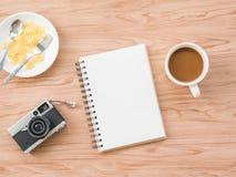 Επίπεδος βάλτε του καφέ 1 Στοκ Φωτογραφίες