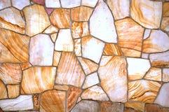 Επίπεδος τοίχος ή διάβαση πεζών πετρών στοκ εικόνα