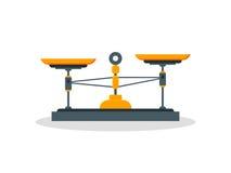 Επίπεδος weigher καταστημάτων Στοκ Εικόνα