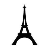 Επίπεδο εικονίδιο πύργων του Άιφελ ελεύθερη απεικόνιση δικαιώματος