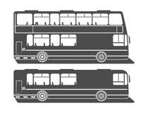 Επίπεδο διώροφο λεωφορείο Στοκ Φωτογραφίες