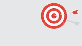 Επίπεδο υπόβαθρο στόχων Στοκ Εικόνα