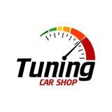 Επίπεδο χρώμα TemplateWith λογότυπων αυτοκινήτων Διανυσματική απεικόνιση