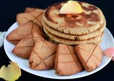 Επίπεδο ψωμί Sindhi στοκ φωτογραφία με δικαίωμα ελεύθερης χρήσης